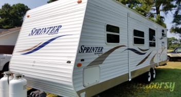 2008 Sprinter by Keystone 303 bhs
