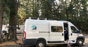 Mountain Sun - Campervan the Winter Adventure Van