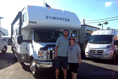 0NEW PRICE  Easy Driver Clean and New Forest River Forester  Dana Point, CA