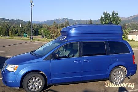 "0""Seaside"" Tiny Van Camper: 2010 Chrysler Town & Country  Springfield, OR"