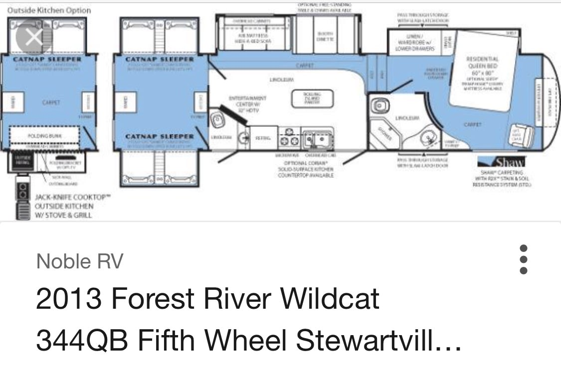 Forest River Wildcat 2013