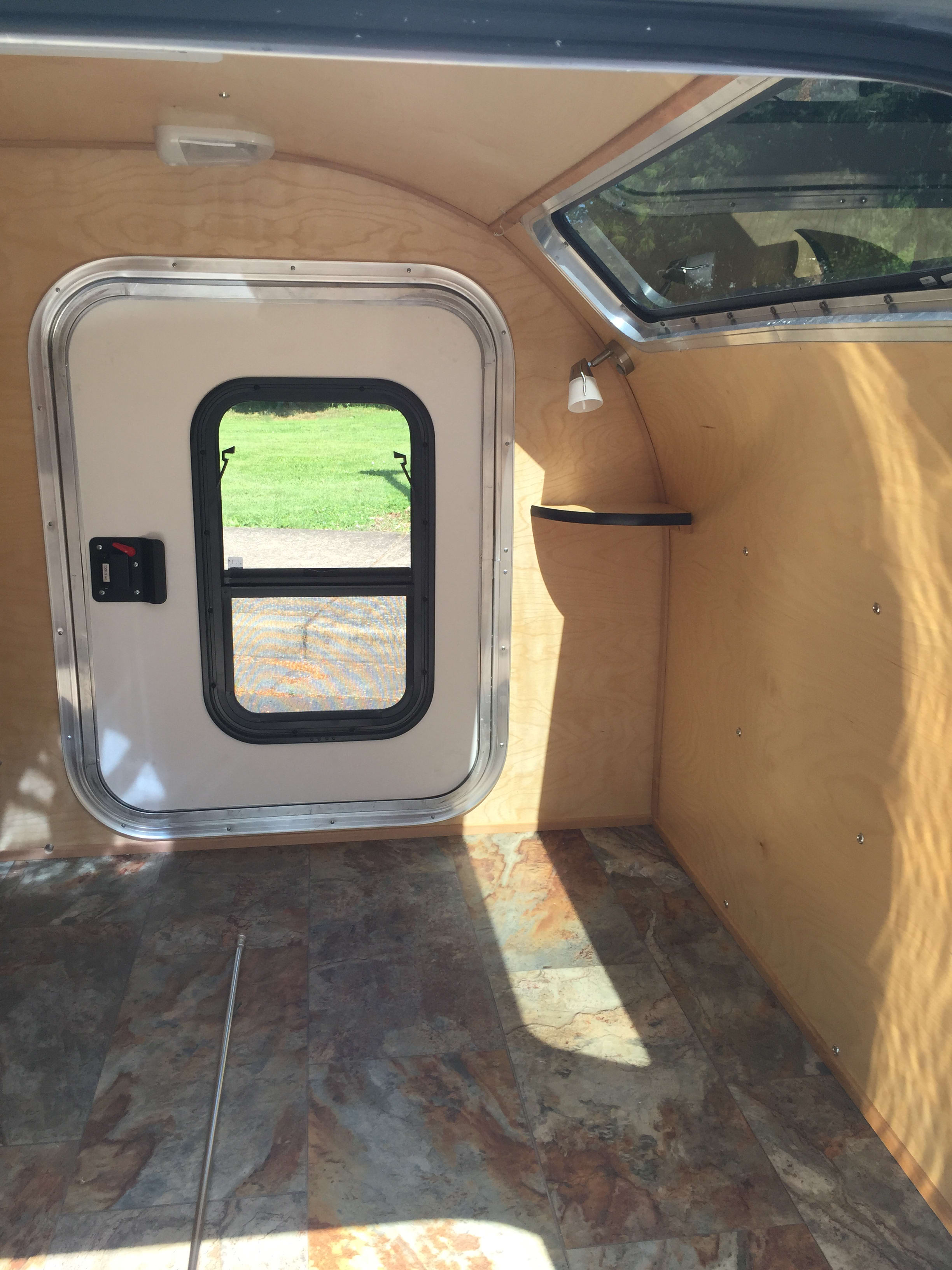 Stargazer Window. DNM Teardrop Trailers 5'x8' 2016