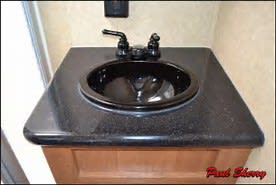 Bathroom sink. Crossroads Cruiser CT31QBX 2013