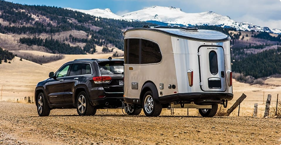 The new Airstream Basecamp is light enough to pull with almost any SUV. . Airstream Base Camp 2017