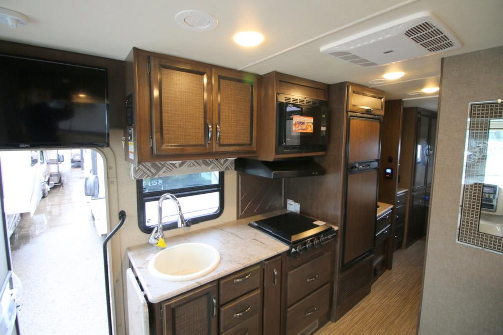 Kitchen Area. Thor Motor Coach Axis 2017