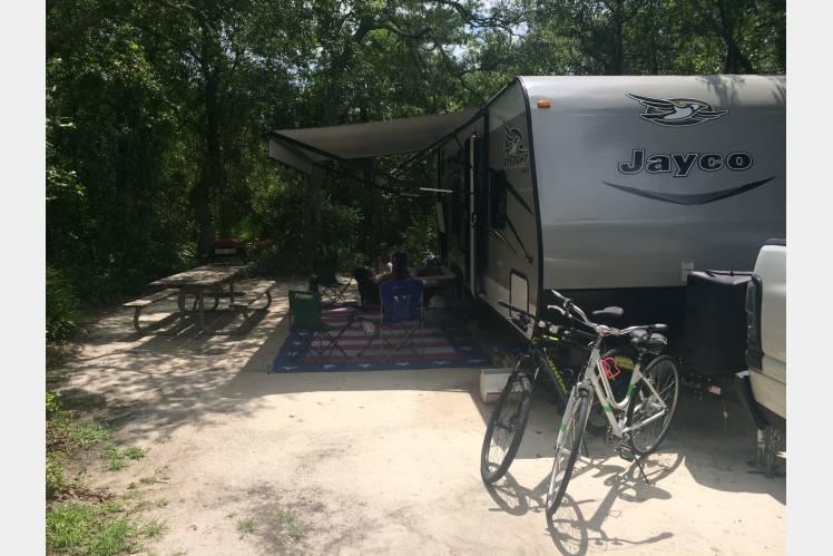 Blue Springs State Park . Jayco Jay Flight 2017
