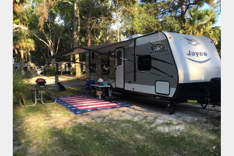 Manatee Hammock Campground . Jayco Jay Flight 2017