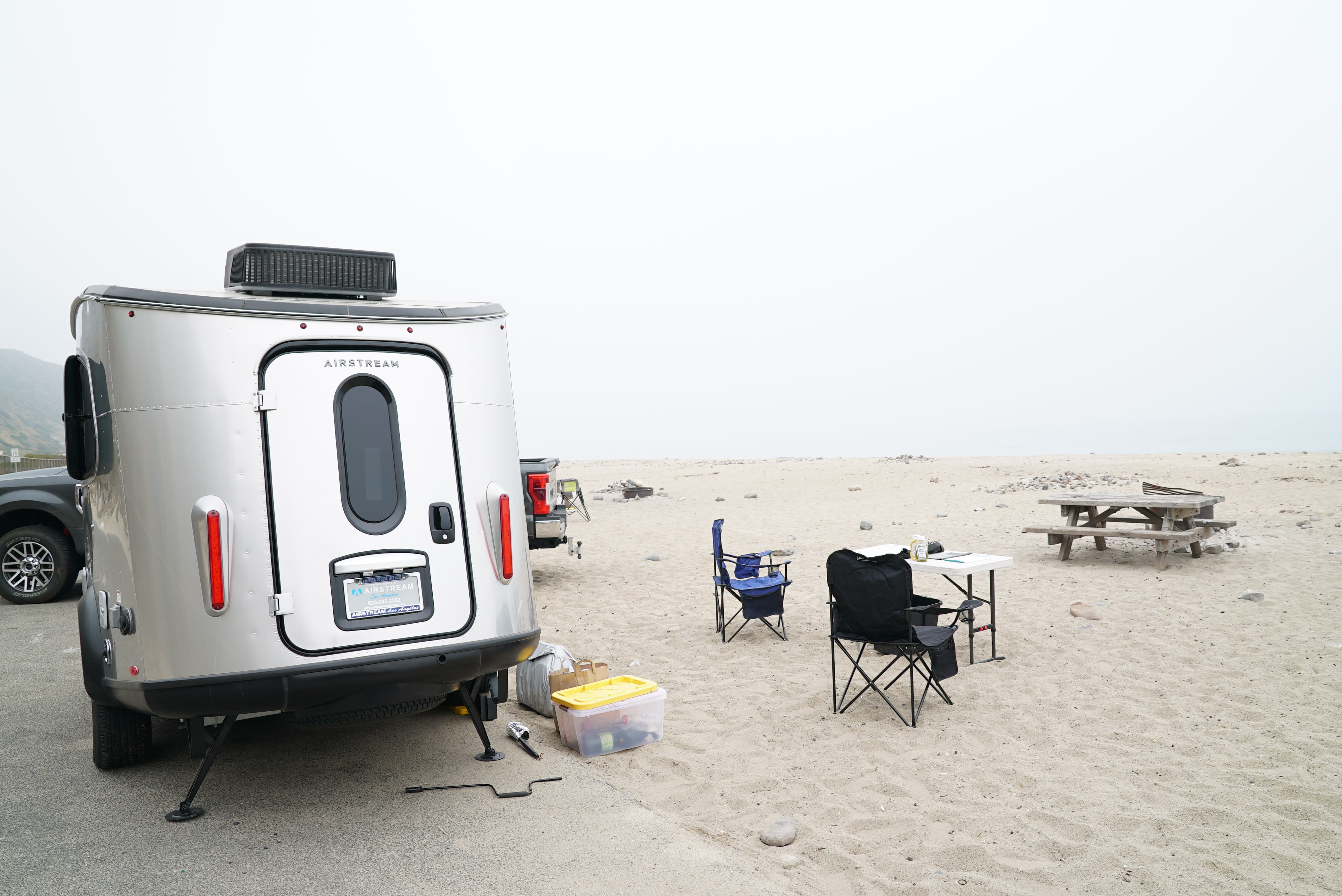 Malibu State Beach Camping. Airstream Base Camp 2017