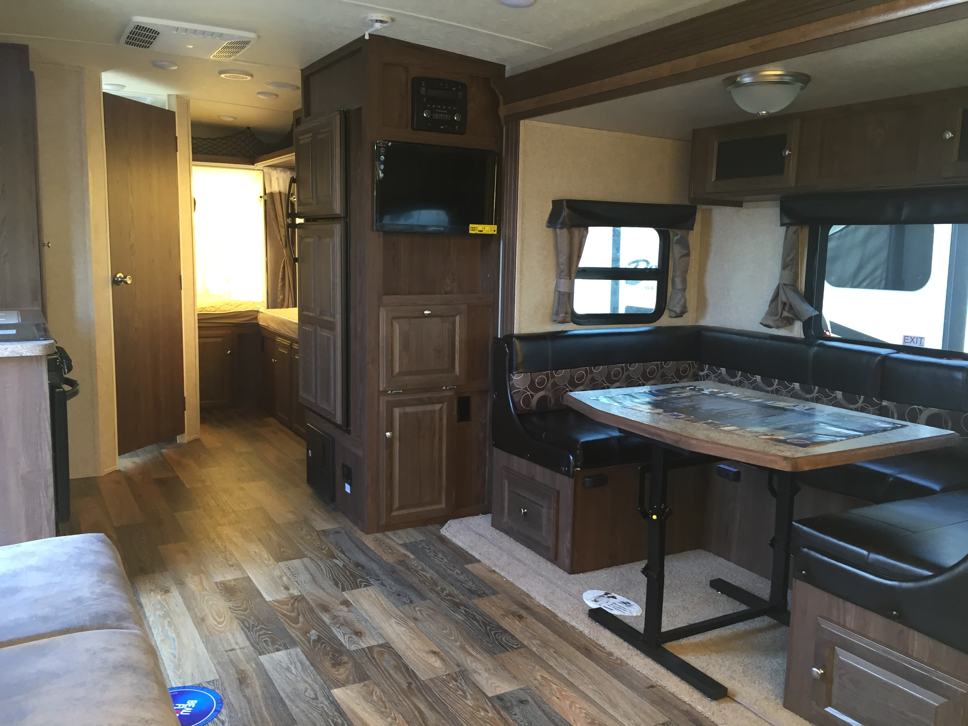Spacious interior. . Forest River Rockwood 2017