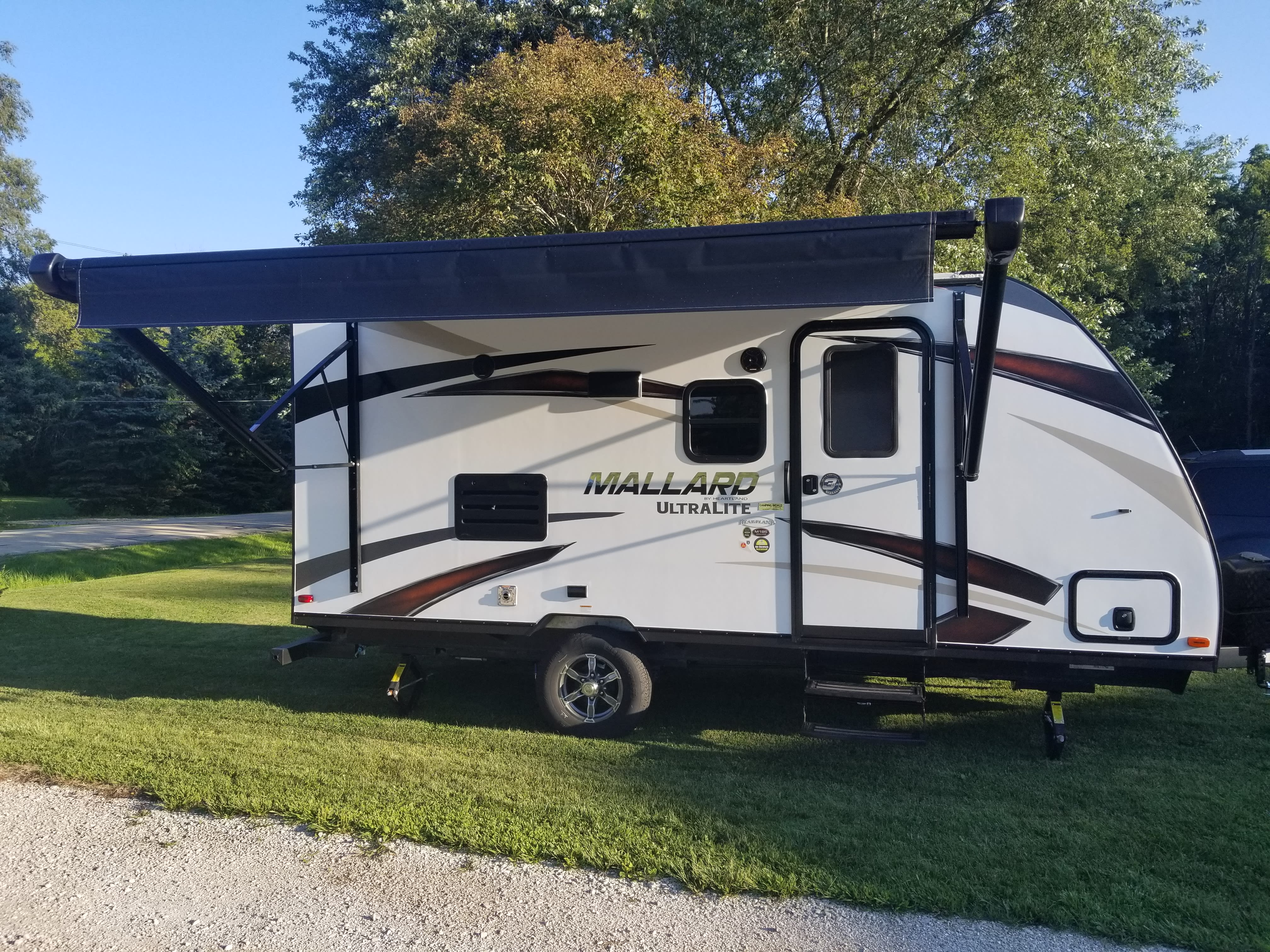 Right Outside with Awning Out. Heartland Other 2018