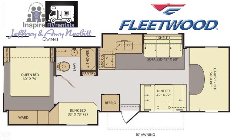 Fleetwood Jamboree Sport 2012