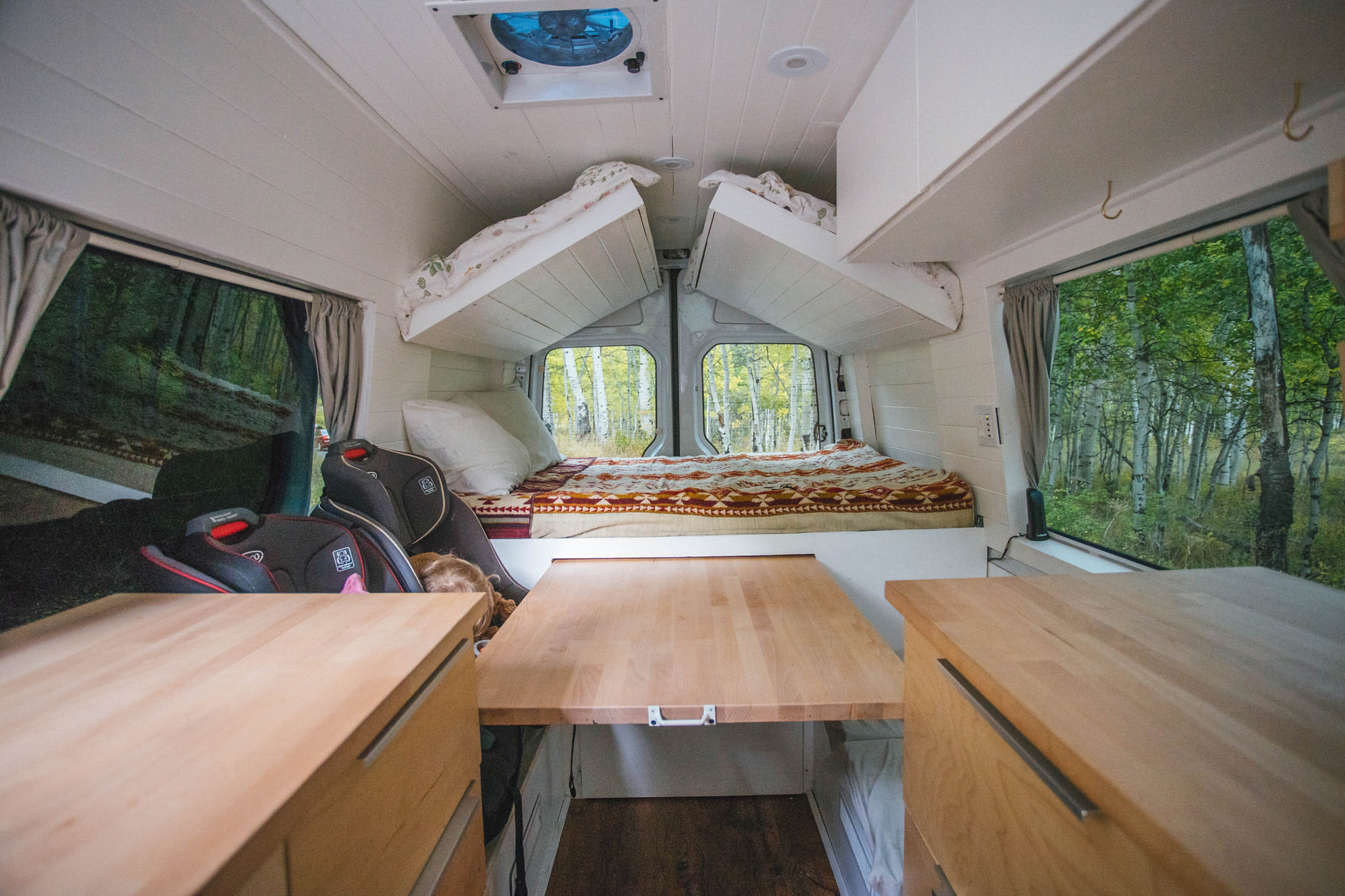 Pull out table.. Mercedes-Benz Sprinter 2014