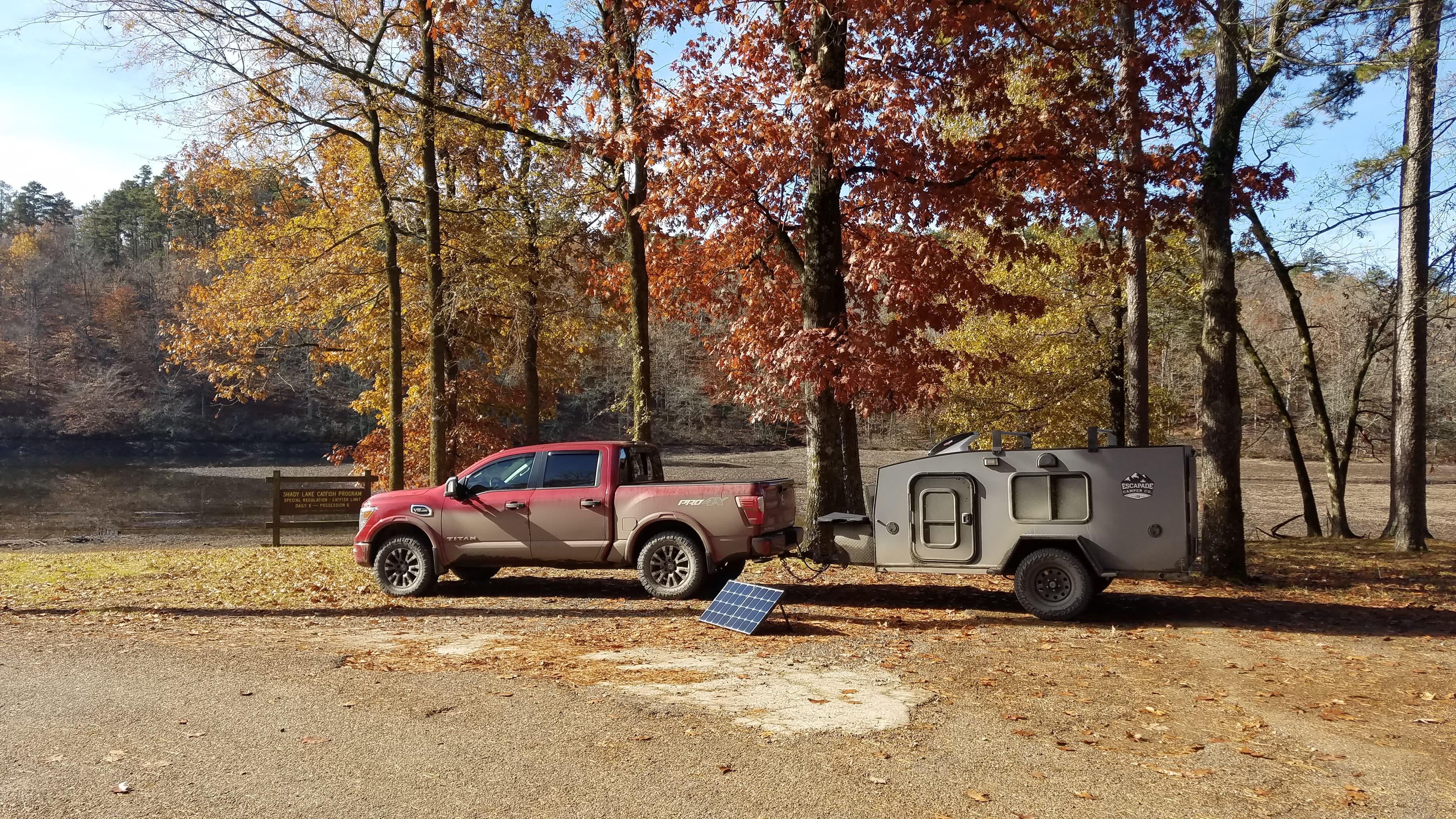 Off the grid camping. . Escapade Camper Summit 2018