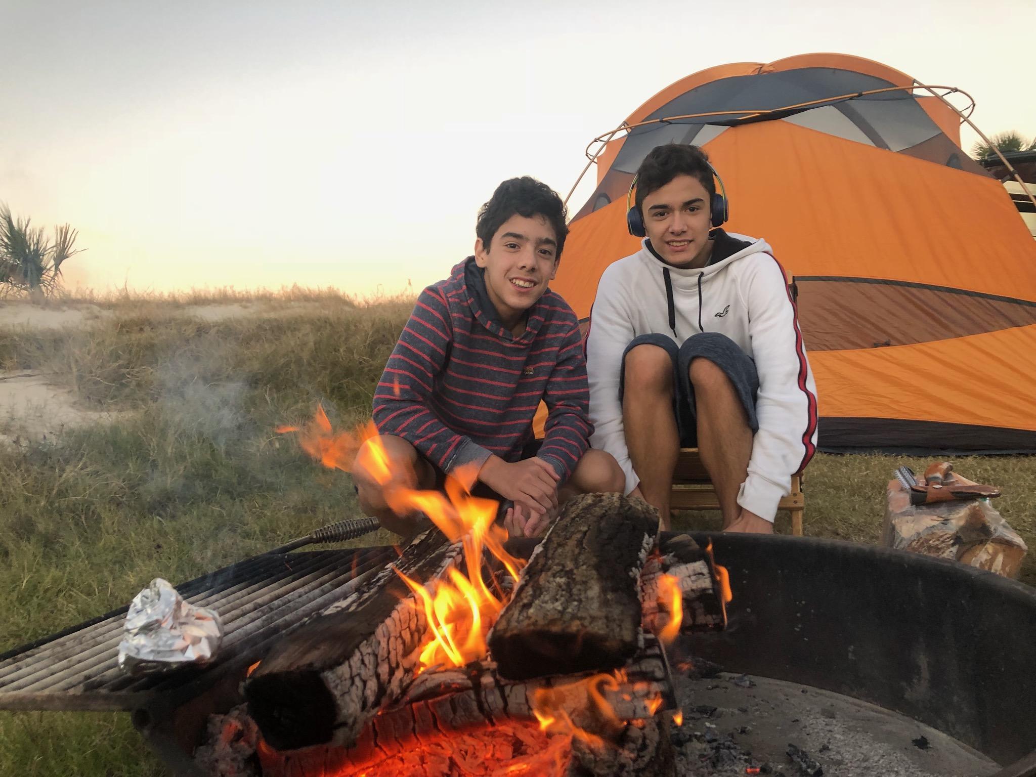 Camping. Airstream Interstate 2017