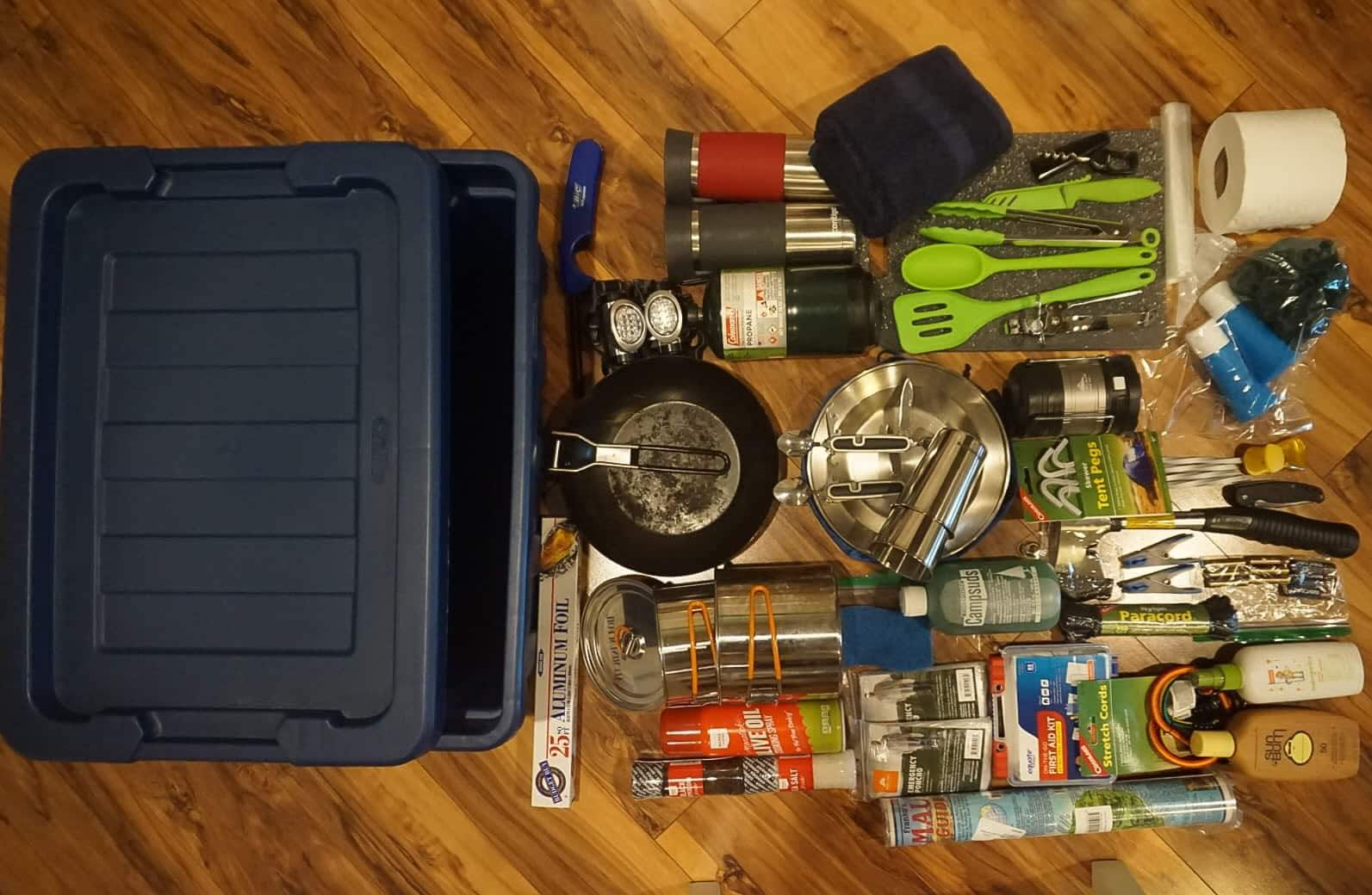 All of the gear you need to make camping easy.. Nissan Xterra 2001