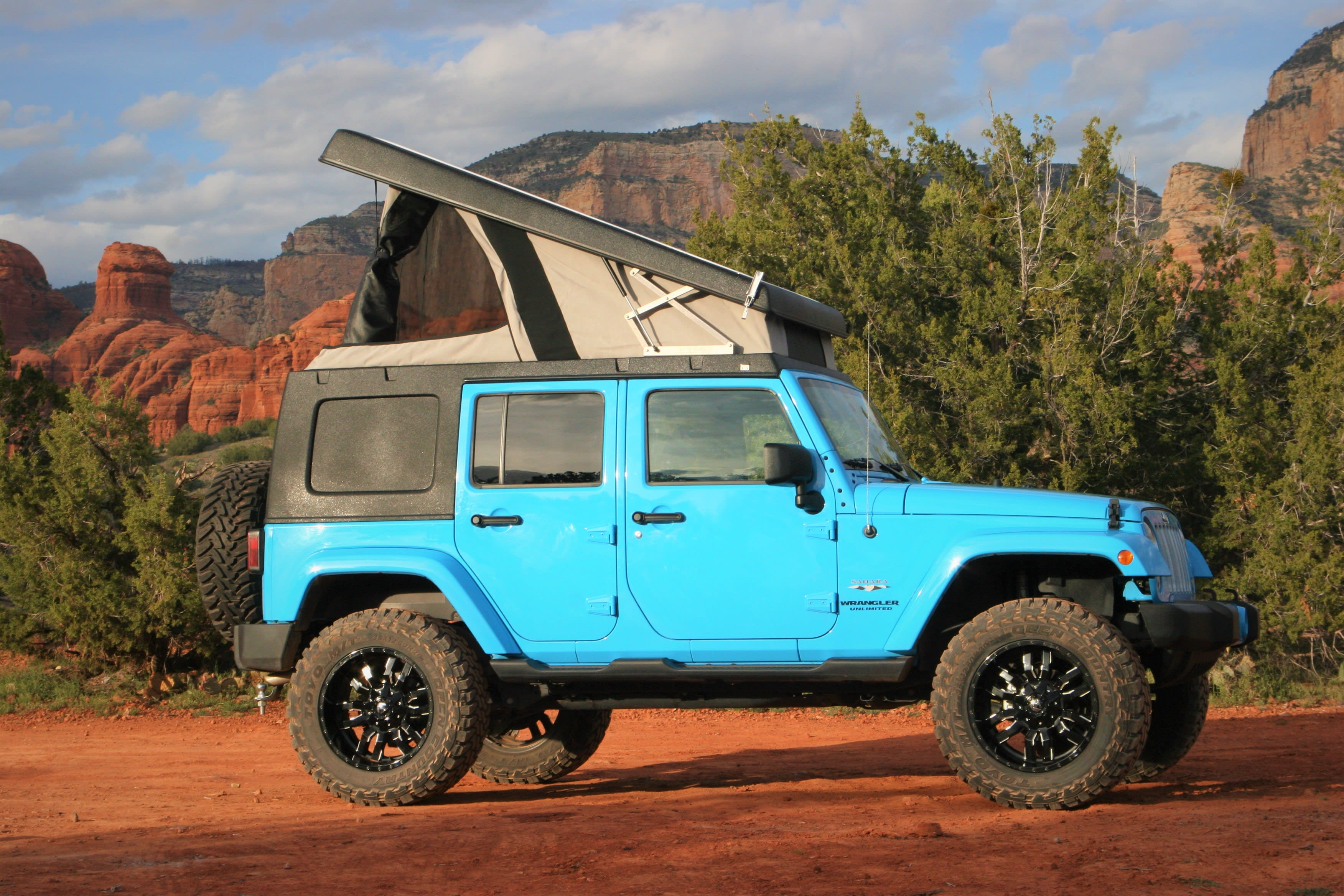 Your adventure awaits!. Jeep Wrangler Unlimited Sahara 2017