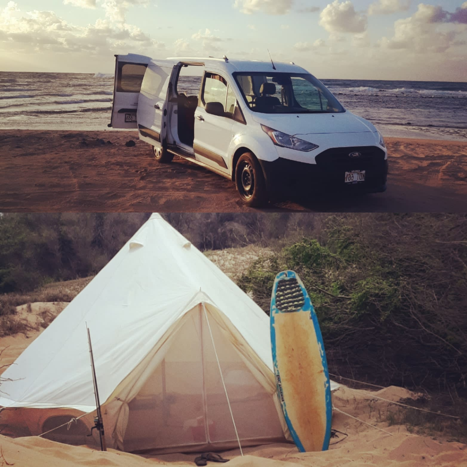 A compact ecomical nomadic adventure!. Ford Transit 2019