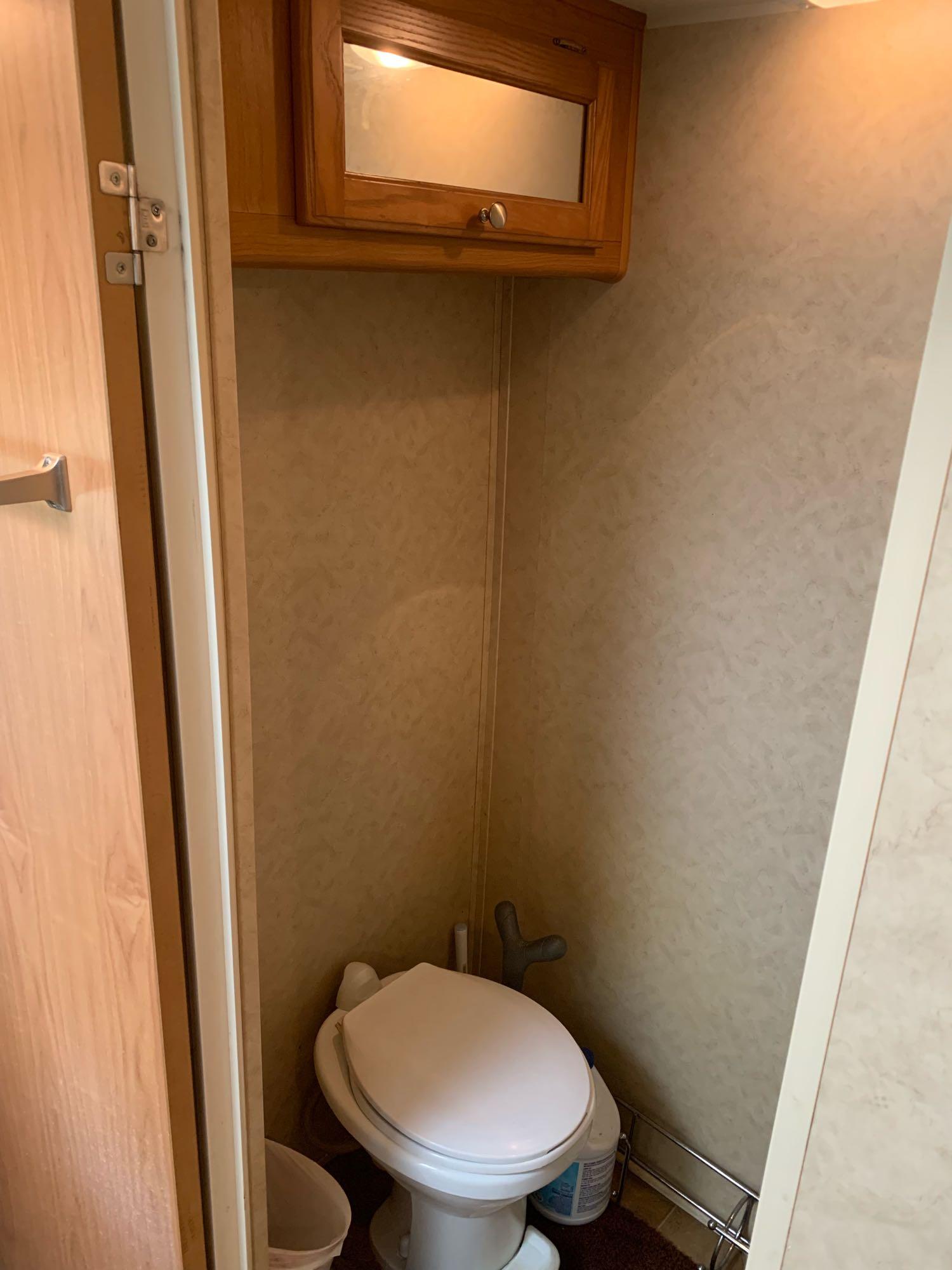 Private toilet area. Dutchmen VictoryLane 2006