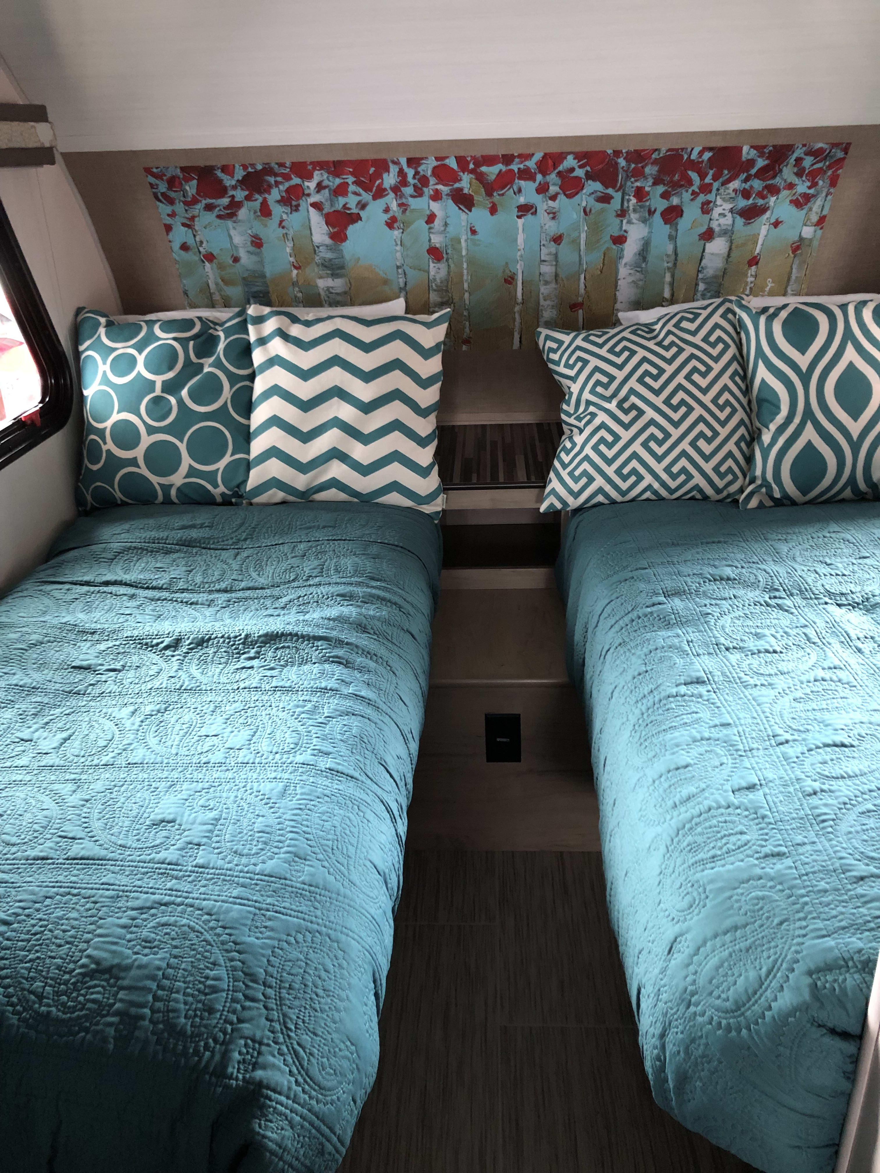 Twin beds for sleeping.. Forest River R-Pod 2019