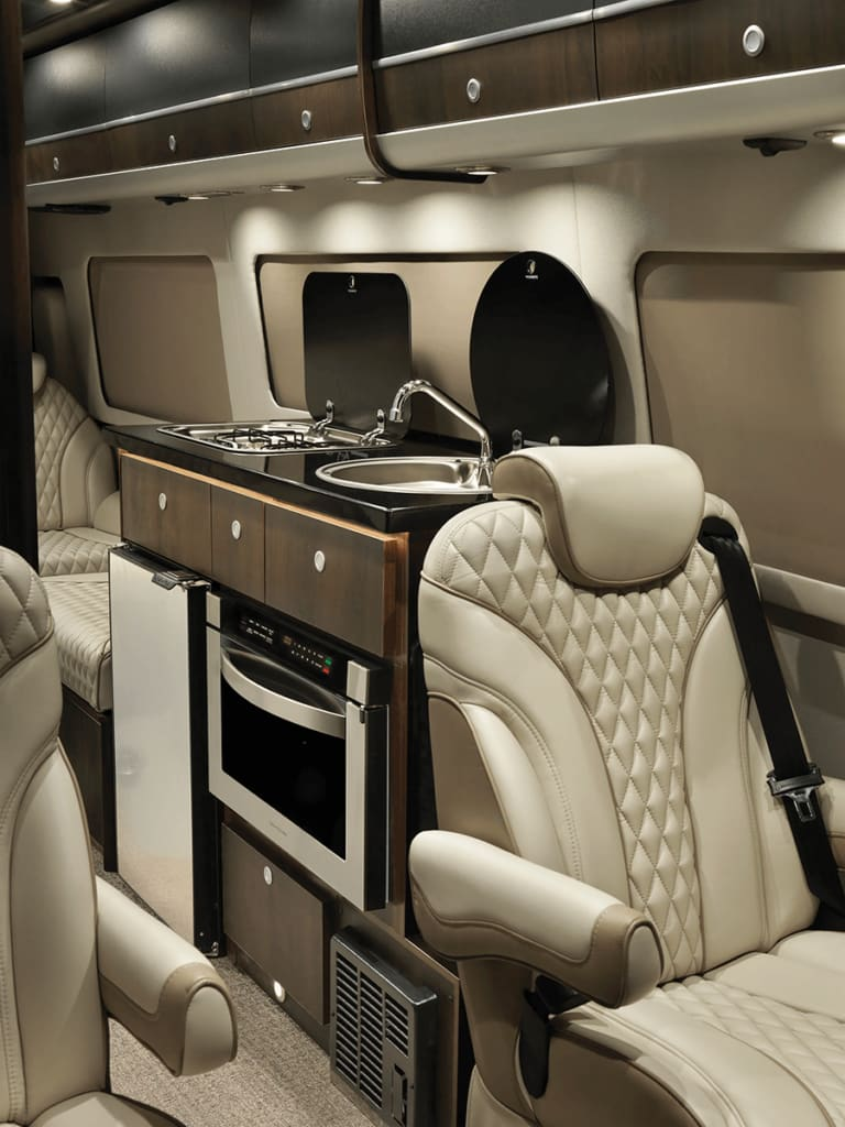 high end appointments throughout. Airstream Interstate Lounge Slate Edition 2019