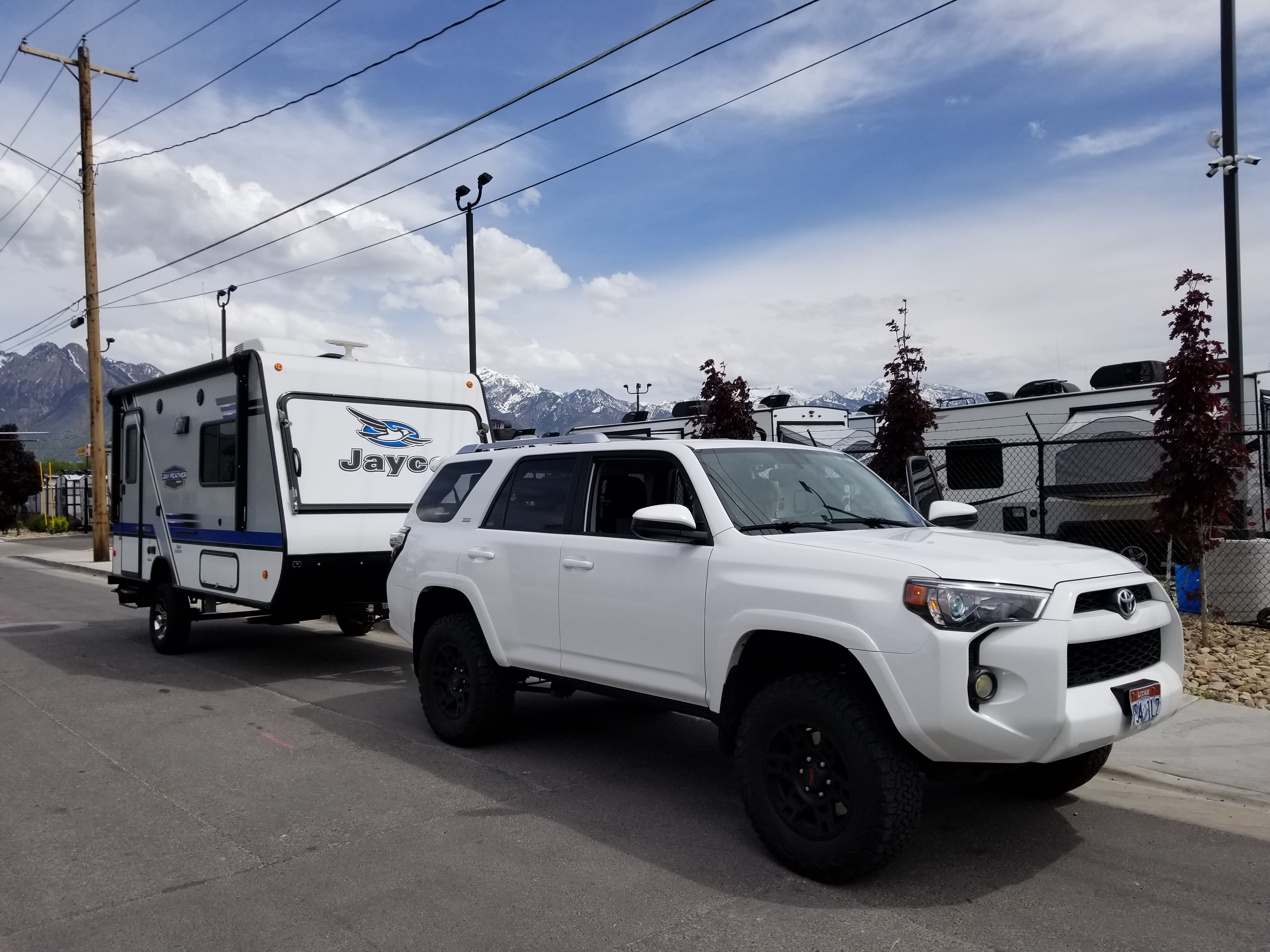 Our maiden voyage!. Jayco Jay Feather 16xrb Baja Edition 2018
