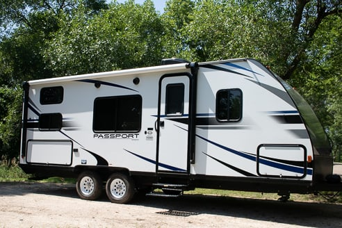 Outside Picture of the camper!. Keystone Passport 239ML 2019
