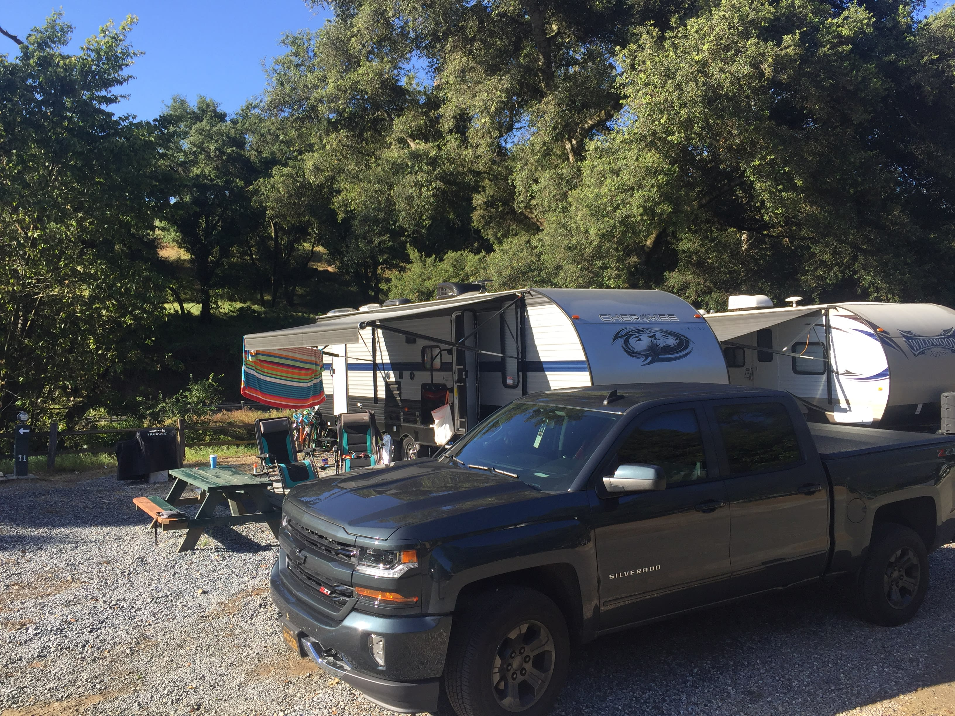 Easily pulled by late model 1500 or 1/2 ton trucks. . Forest River Cherokee Grey Wolf 2019