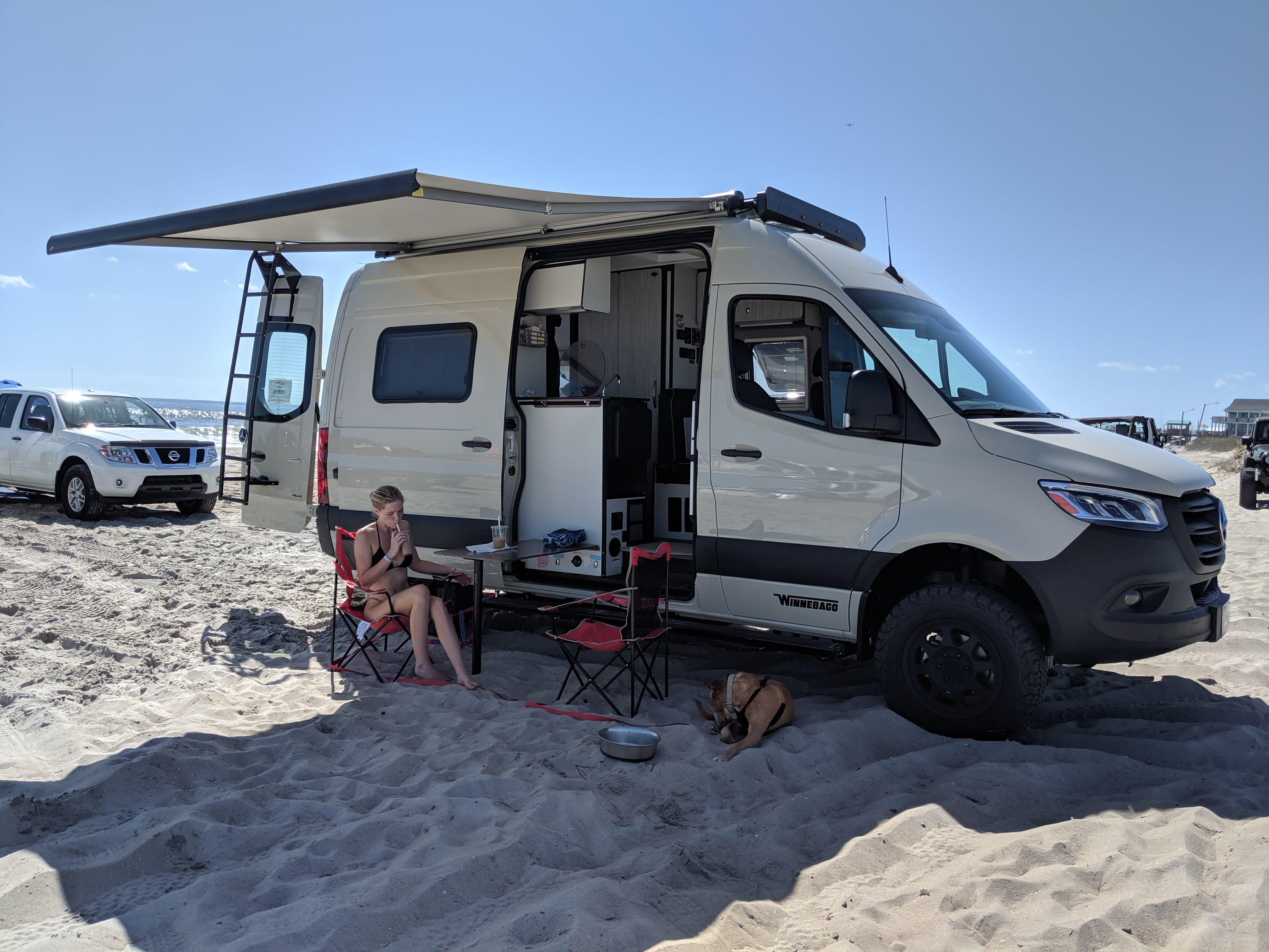 Don't fear the sand! . Winnebago Revel 44e 2020