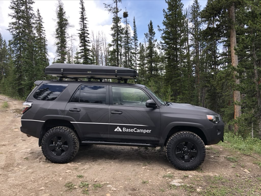 Rovrr 1: The Grey will get you there and back.. Toyota 4Runner 2015