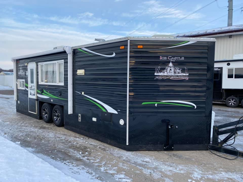 Ice Castle Fish Houses Rv Edition Hybrid 2015