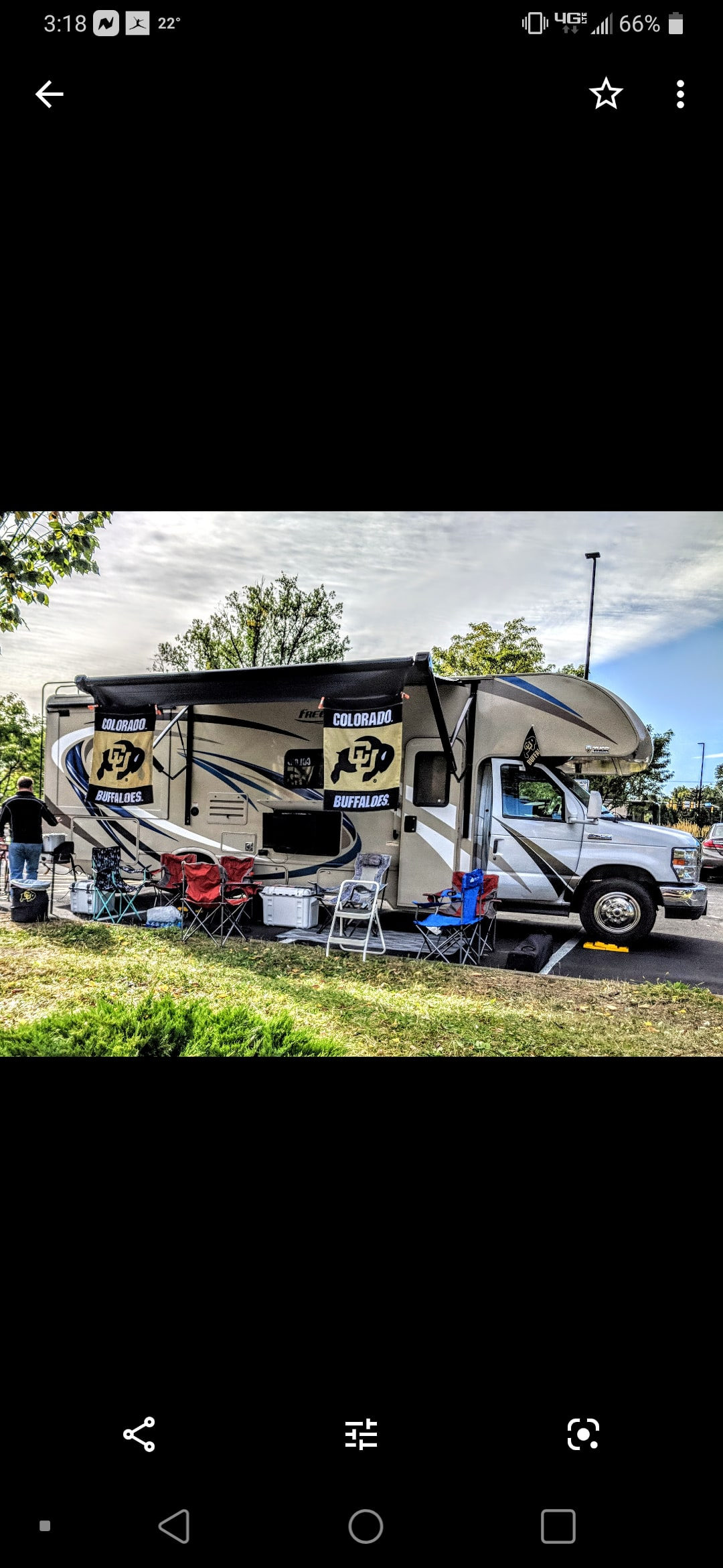 Can't beat a good tailgate!. Thor Motor Coach Freedom Elite 2019