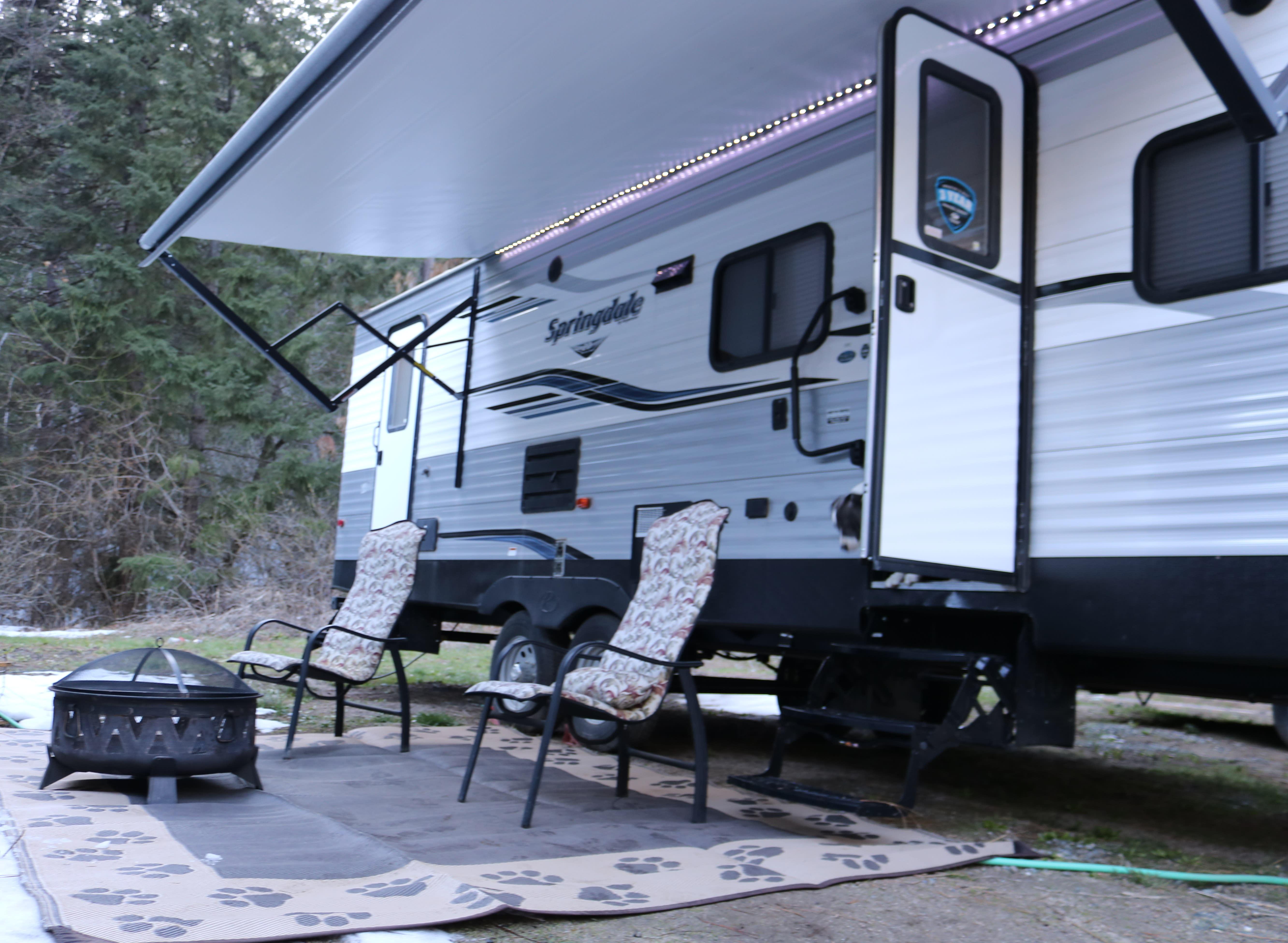 Ready to enjoy the outdoor living.. Keystone Springdale 2019