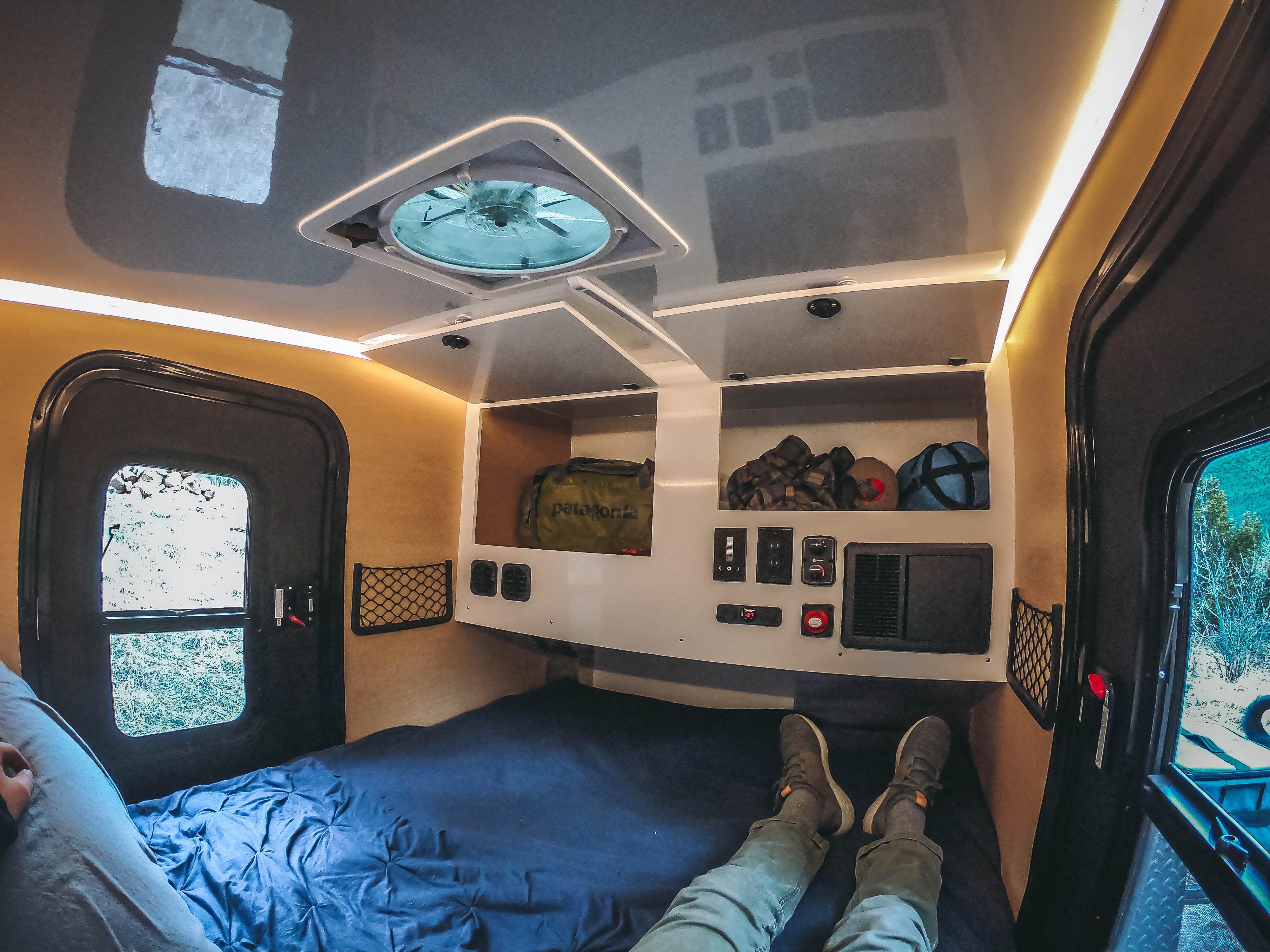Plenty of storage space. Boreas Campers Boreas XT 2020
