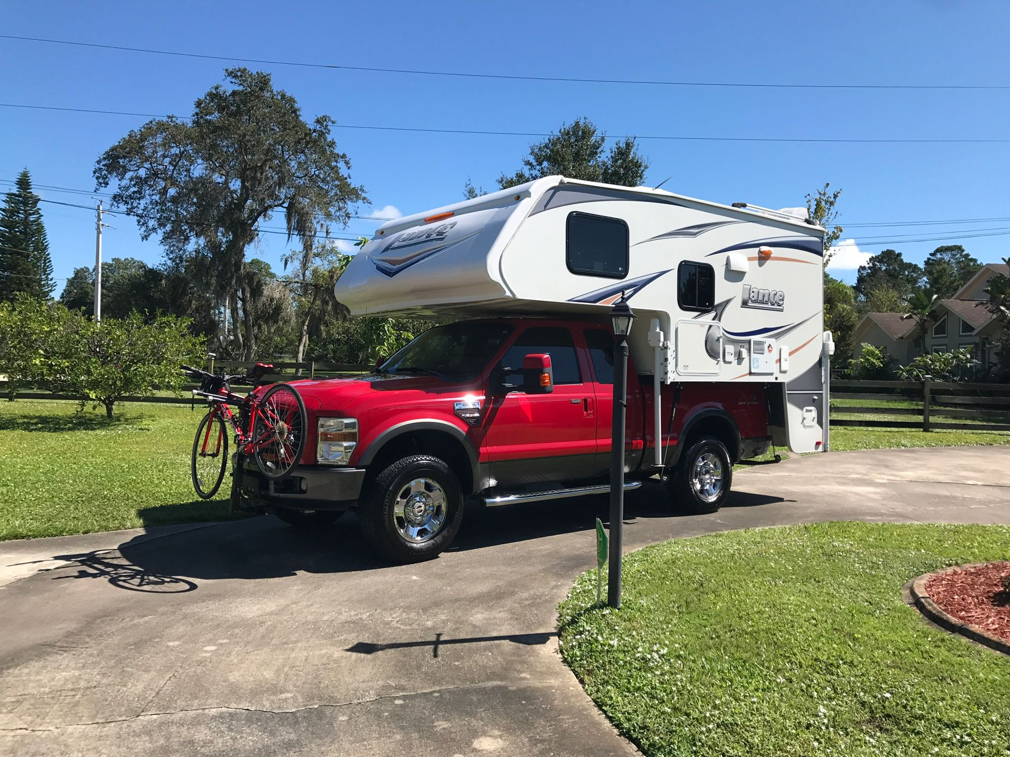 Ready for another trip to Fort wilderness. Lance 855s 2013