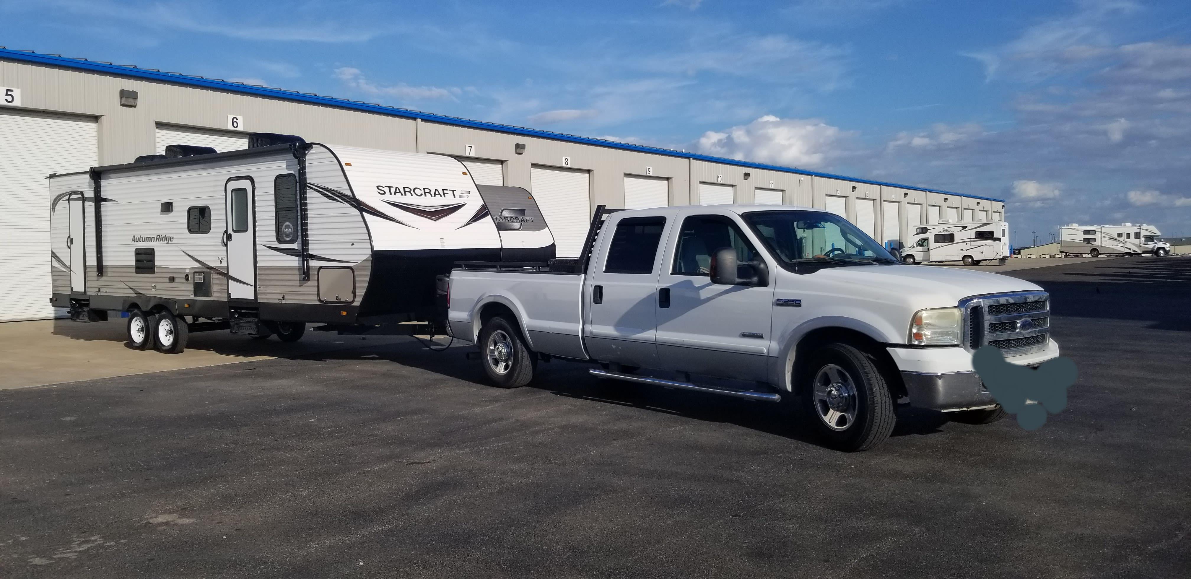 Towing Big Bertha!. Starcraft Autumn Ridge 2020
