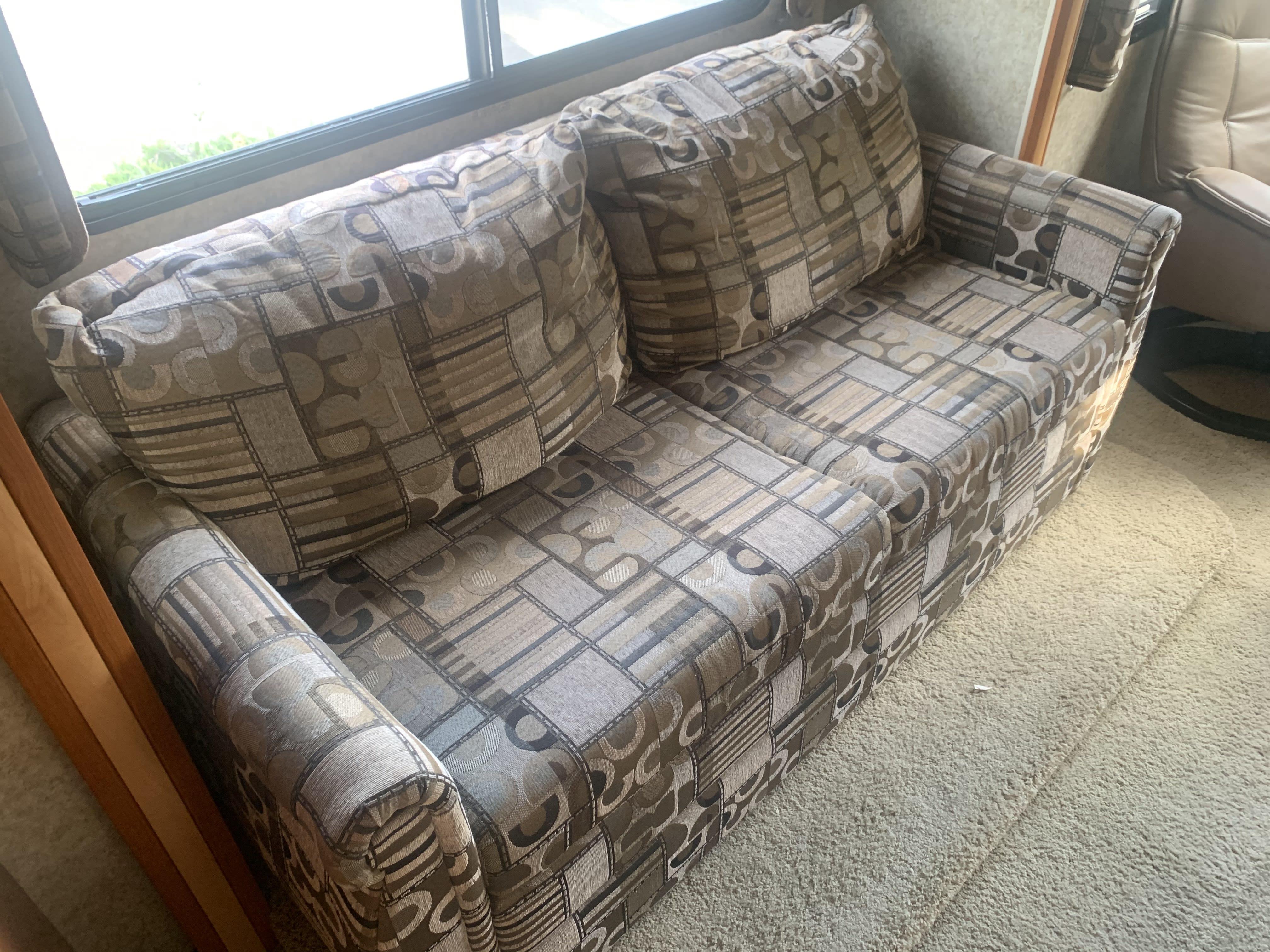 Sleeper couch. Winnebago Outlook 2009