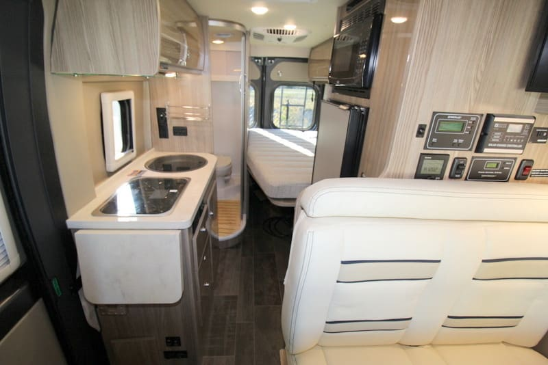 Interior. Winnebago Travato 2020