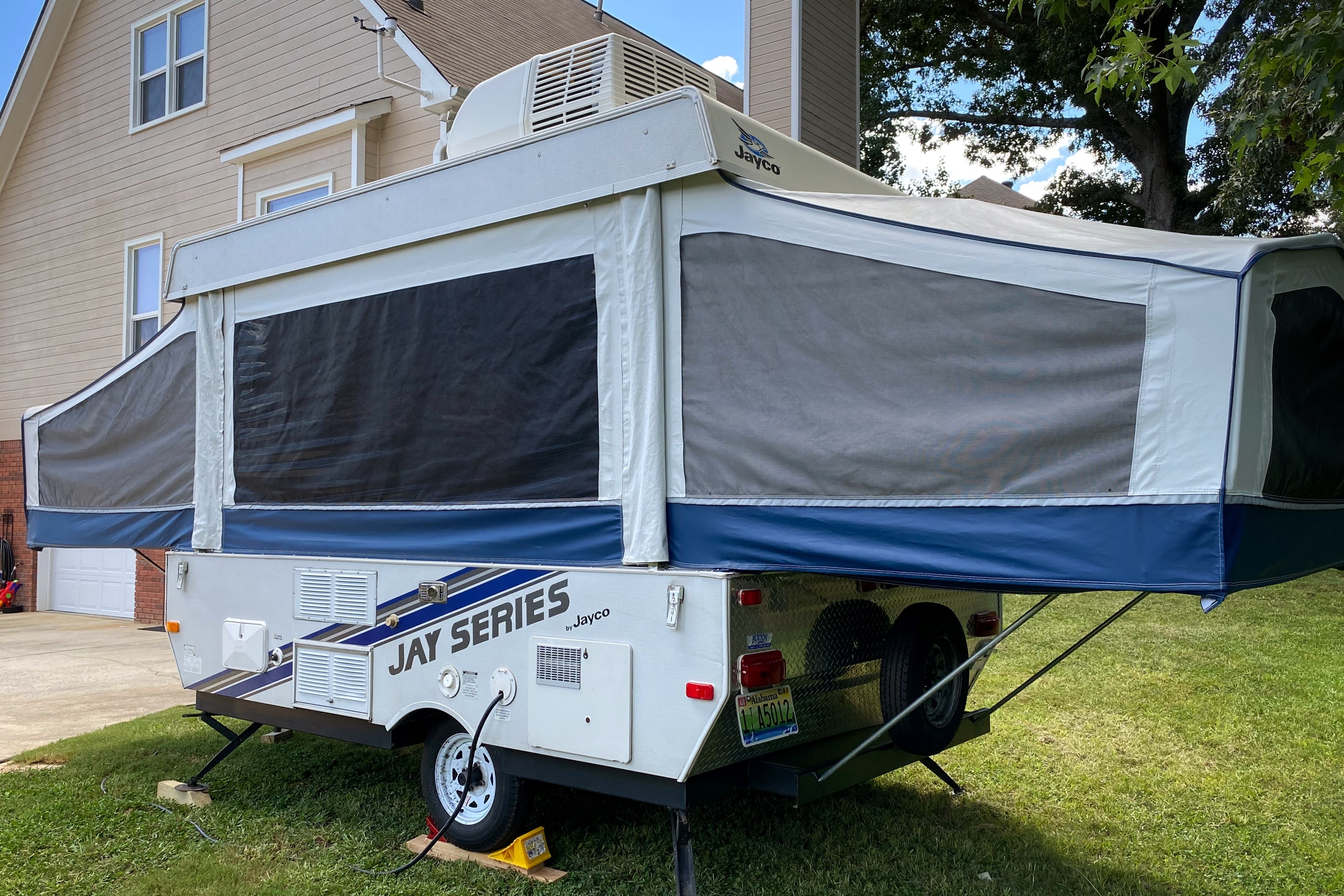 Rear View of the Camper. Jayco Jay Series 2008