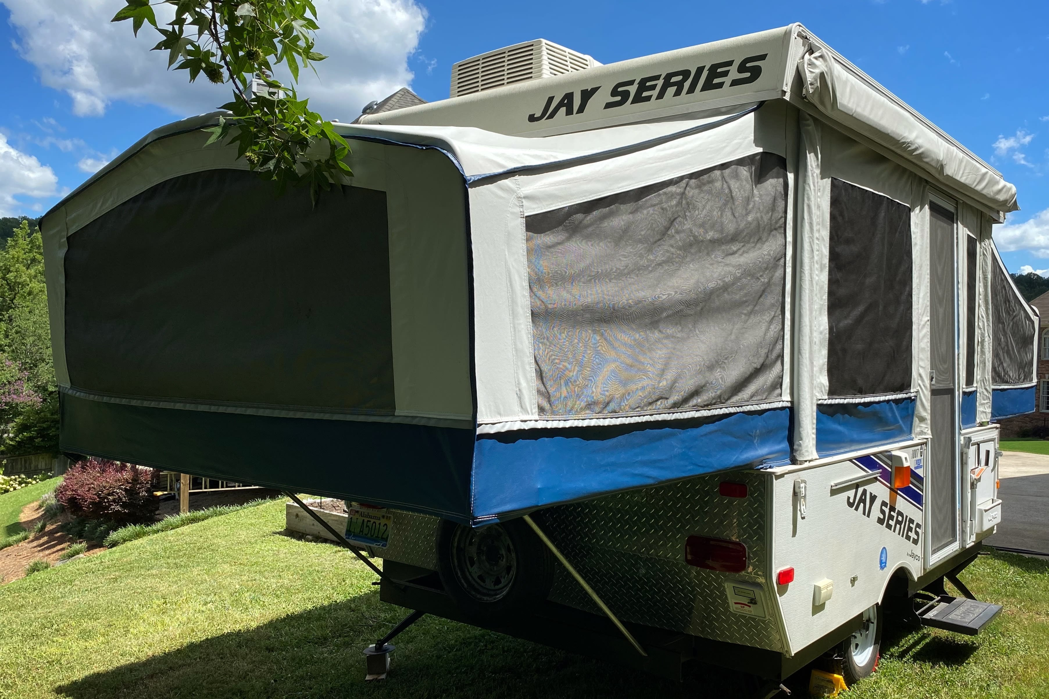 Full / Queen Bunk End. Jayco Jay Series 2008