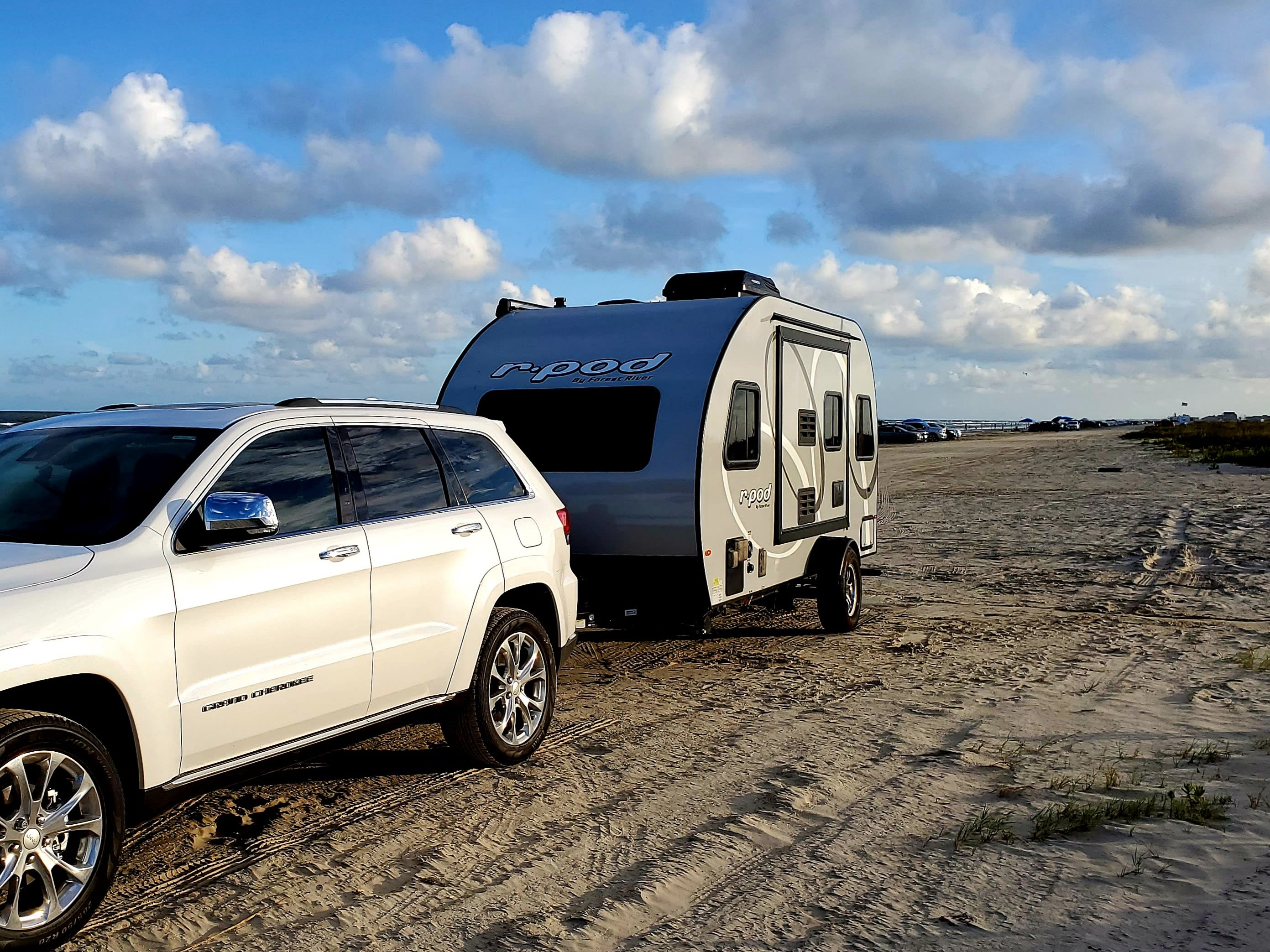 Beach camping with a generator and best view in town!. Forest River R-Pod 190 2020
