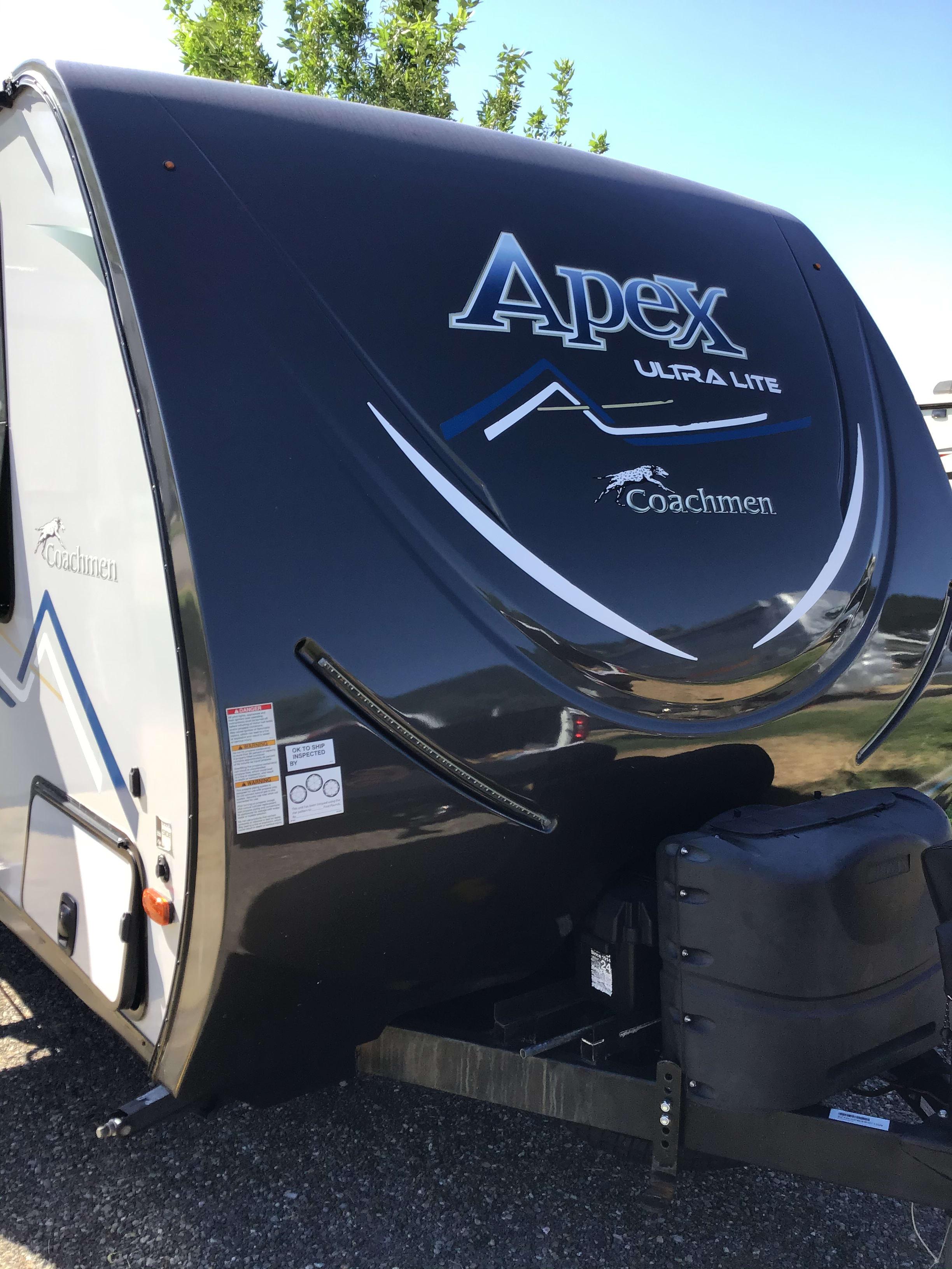 Exterior Front. Coachmen Apex Ultra Lite 245BHS 2017