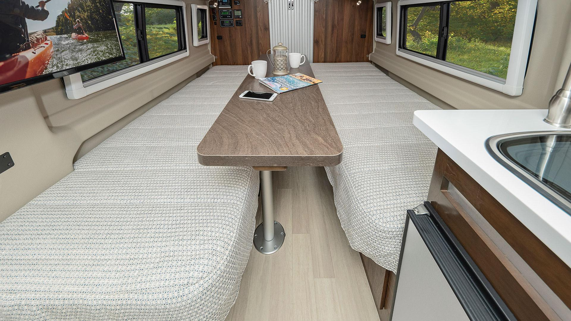 This is the table that came with the van.. Winnebago Travato 2019