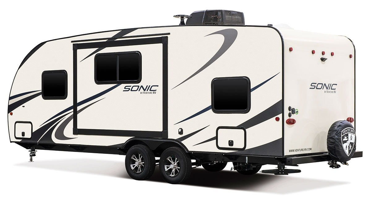 Outside view. Venture Rv Sonic 2019