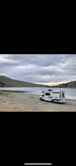 Find a secluded lake and setup for a few nights!. Winnebago Outlook 2019