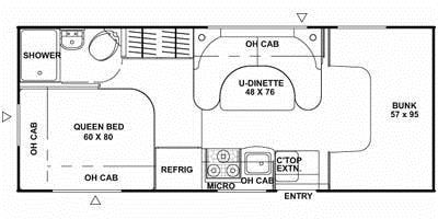 2020 Coachmen Freelander Floor Plan. Coachmen Freelander 2020