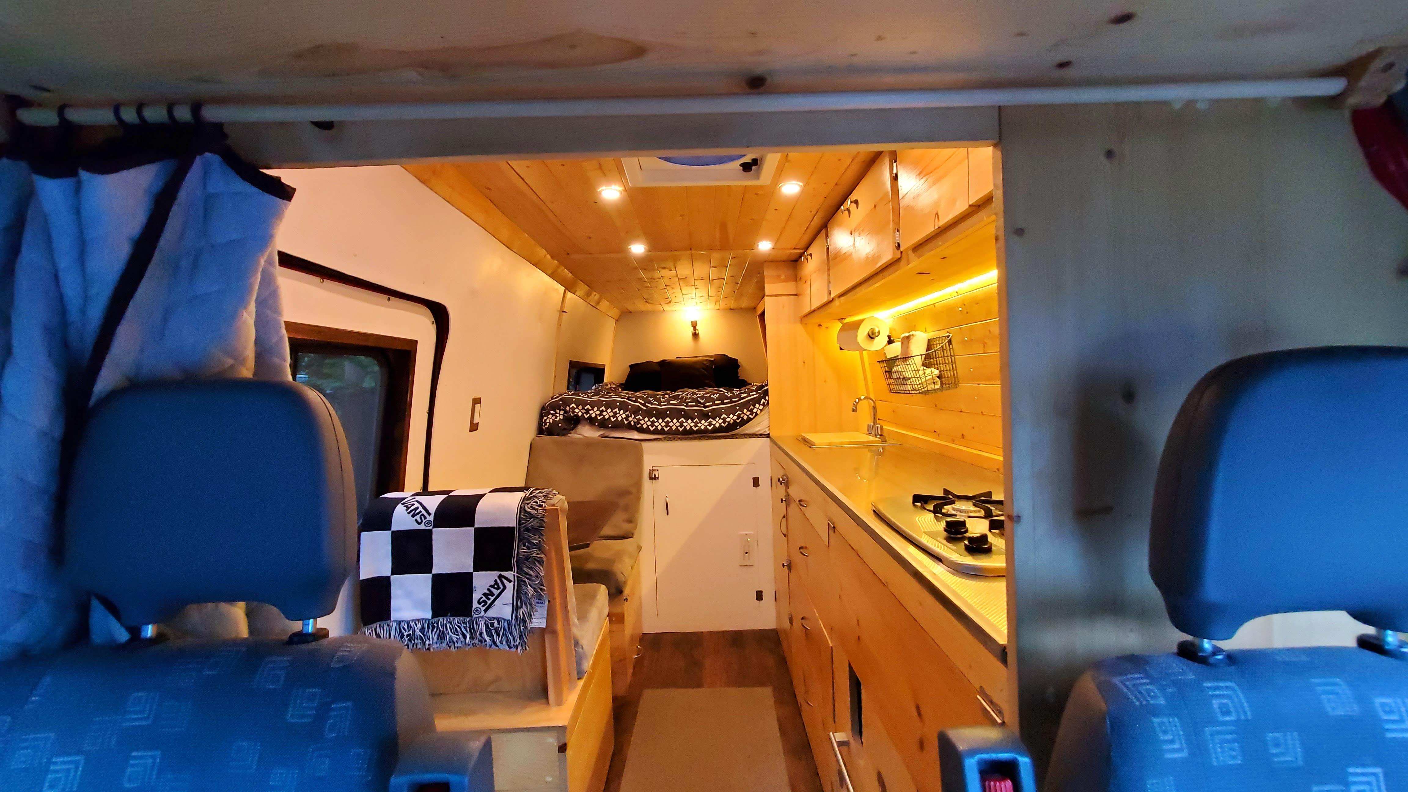 Interior. Dodge Sprinter Van 3500 2004