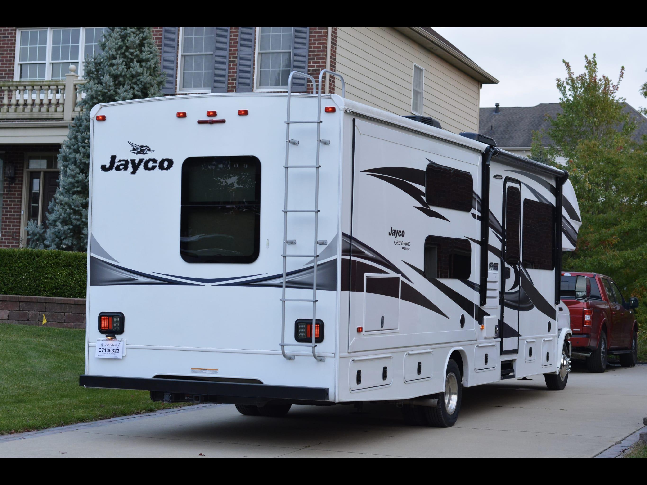Jayco Greyhawk Prestige - 31FSP 2018