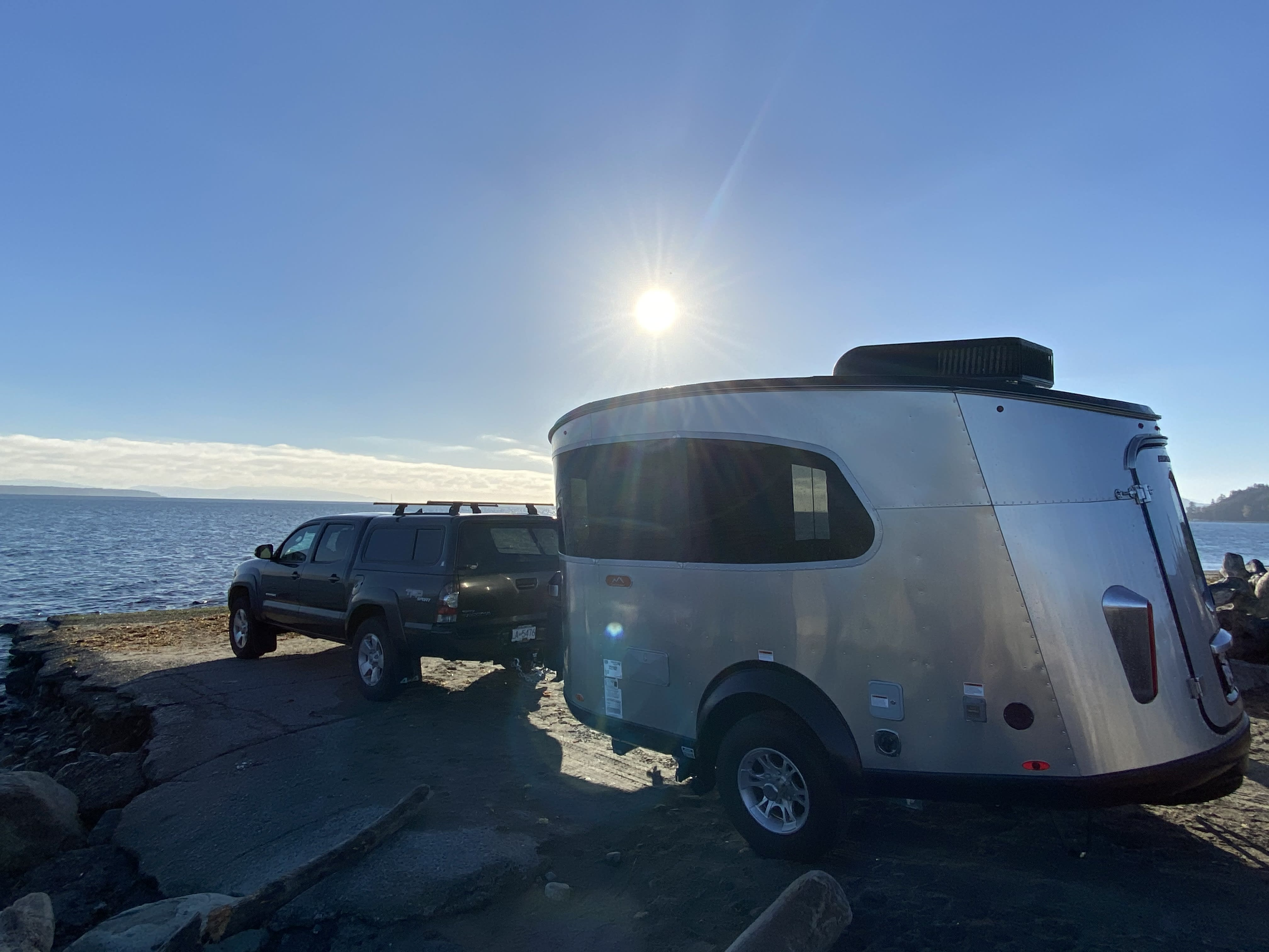 From the surf to the mountain tops!. Airstream Base Camp 2021