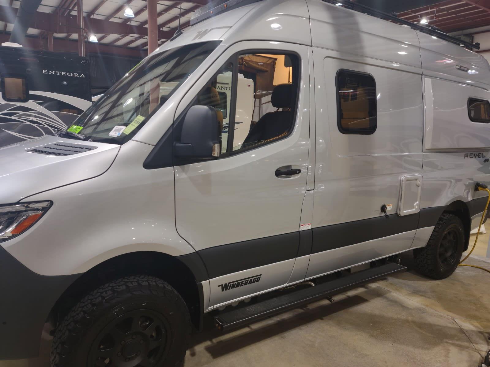 Driver Front. Winnebago Revel 2020