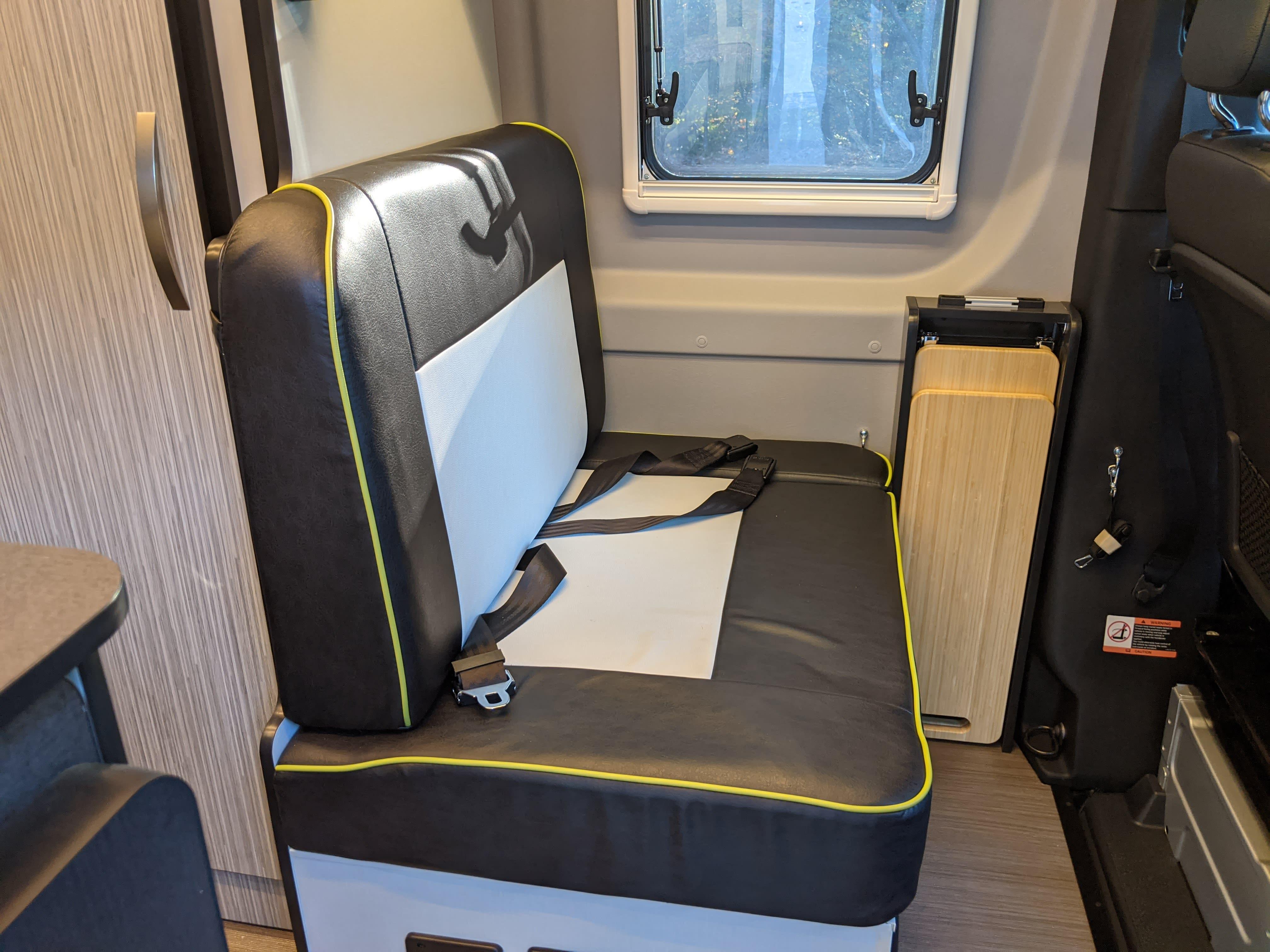 Passenger seating. Winnebago Revel 2020